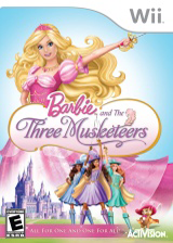 Barbie and the Three Musketeers Wii cover (R23E52)