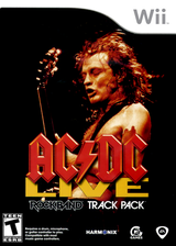 AC/DC Live: Rock Band Track Pack Wii cover (R33E69)