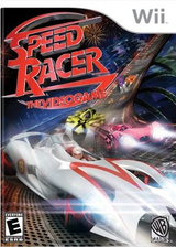 Speed Racer: The Videogame Wii cover (R3PEWR)