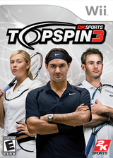 Top Spin 3 Wii cover (R3TE54)
