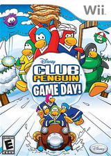 Club Penguin: Game Day! Wii cover (R59E4Q)