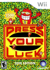 Press Your Luck 2010 Edition Wii cover (R66E41)
