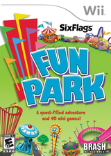 Six Flags Fun Park Wii cover (R6FERS)