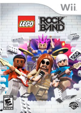 LEGO Rock Band Wii cover (R6LEWR)