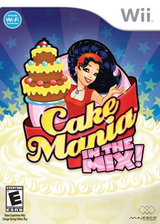 Cake Mania: In The Mix! Wii cover (R72E5G)