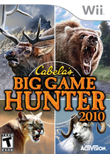 Cabela's Big Game Hunter 2010 Wii cover (R8YE52)
