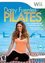 Daisy Fuentes Pilates Wii cover (R8ZE8P)