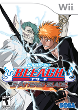 Bleach: Shattered Blade Wii cover (RBLE8P)
