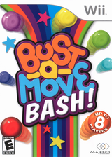 Bust-a-Move Bash! Wii cover (RBME5G)