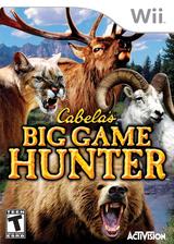 Cabela's Big Game Hunter Wii cover (RCBE52)