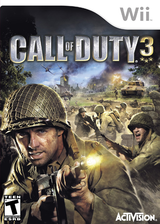 Call of Duty 3 Wii cover (RCDE52)