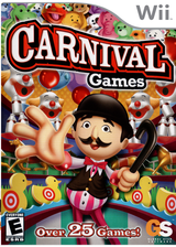 Carnival Games Wii cover (RCGE54)