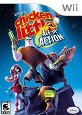 Disney's Chicken Little: Ace in Action Wii cover (RCLE4Q)