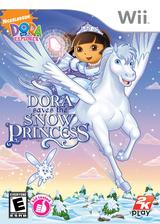 Dora Saves the Snow Princess Wii cover (RDPE54)