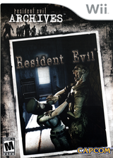 Resident Evil Archives: Resident Evil Wii cover (RE4E08)