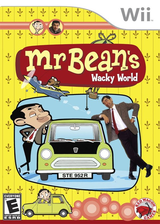 Mr. Bean's Wacky World Wii cover (REBE4Z)