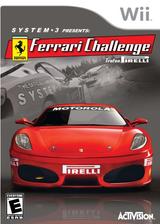 Ferrari Challenge: Trofeo Pirelli Wii cover (RF3E52)