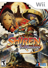 Shiren the Wanderer Wii cover (RFSEEB)