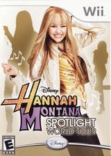Hannah Montana: Spotlight World Tour Wii cover (RHQE4Q)