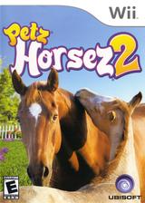 Petz Horsez 2 Wii cover (RHZE41)