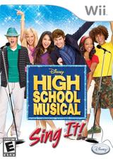 High School Musical: Sing It! Wii cover (RI2E4Q)