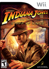 Indiana Jones and the Staff of Kings Wii cover (RJ8E64)