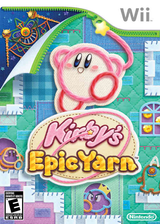 Kirby's Epic Yarn Wii cover (RK5E01)