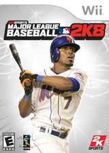 Major League Baseball 2K8 Wii cover (RK8E54)