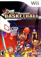 Kidz Sports: Basketball Wii cover (RKSENR)