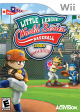 Little League World Series Baseball 2008 Wii cover (RLHE52)