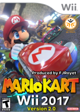 Mario Kart Wii 2017 - Version 2.0 CUSTOM cover (RMCEB2)