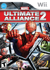 Marvel: Ultimate Alliance 2 Wii cover (RMSE52)