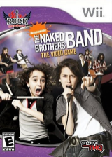 The Naked Brothers Band: The Video Game Wii cover (RN5E78)