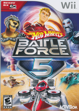 Hot Wheels: Battle Force 5 Wii cover (RO5E52)