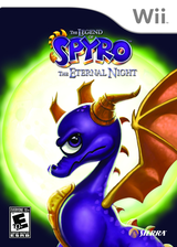 Legend of Spyro: The Eternal Night Wii cover (RO7E7D)