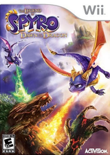 Legend of Spyro: Dawn of the Dragon Wii cover (RO8E7D)