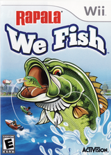 Rapala: We Fish Wii cover (ROJE52)