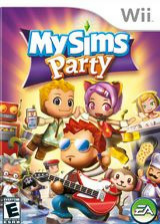 MySims Party Wii cover (RP4E69)