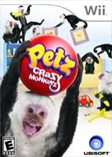 Petz Crazy Monkeyz Wii cover (RP6E41)