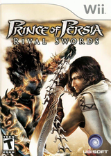 Prince of Persia: Rival Swords Wii cover (RPPE41)