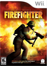 Real Heroes: Firefighter Wii cover (RRRE5Z)