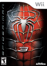 Spider-Man 3 Wii cover (RS3E52)