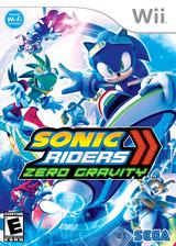 Sonic Riders: Zero Gravity Wii cover (RS9E8P)