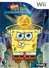SpongeBob's Atlantis SquarePantis Wii cover (RSAE78)