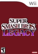 Super Smash Bros. Brawl Legacy: Project M CUSTOM cover (RSBE35)