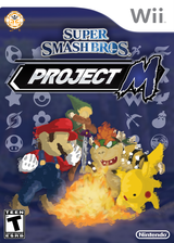 Super Smash Bros. Project M Wi-Fi CUSTOM cover (RSBEPW)