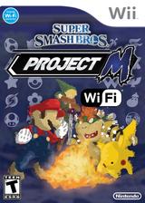 Super Smash Bros. Project M Wi-Fi CUSTOM cover (RSBEWM)