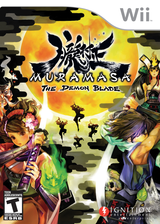 Muramasa: The Demon Blade Wii cover (RSFE7U)