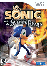 Sonic and the Secret Rings Wii cover (RSRE8P)