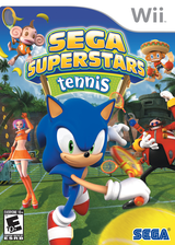 SEGA Superstars Tennis Wii cover (RT5E8P)